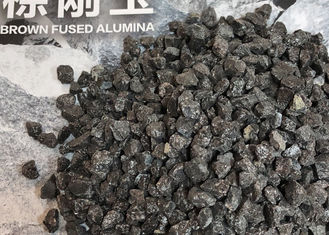 Ramming Mass Brown Corundum Aluminum Oxide Sand Without Bursting / Pulverising